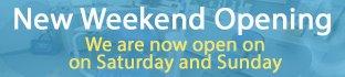 Weekend Opening